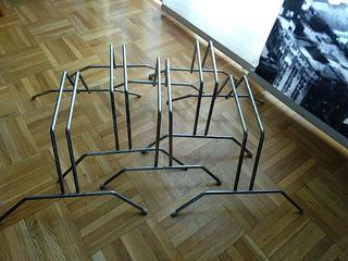 lote 5 soporte/expositor bicicletas rueda estrecha