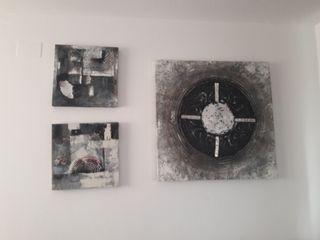 conjunto tres cuadros