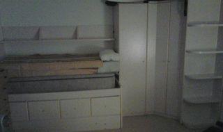 Cama de 90 con cajones+otra cama debajo+armario