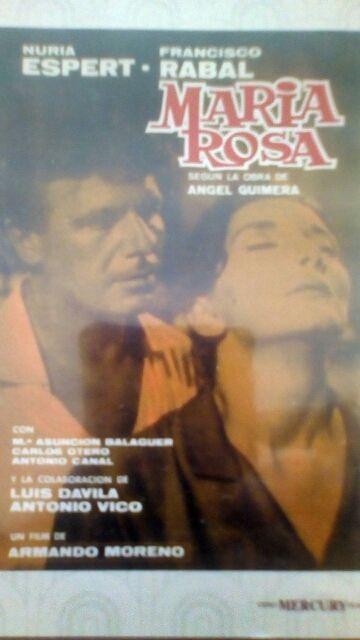 dvd Maria Rosa Oropesa