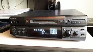 Reproductor Minidisc Sony (leer bien)