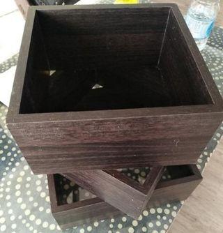 estanteria de 3 cubos