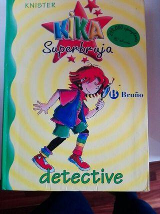 Libro Kika Superbruja Detective