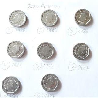 Monedas 200 pesetas
