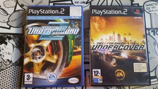 Need for speed Underground 2 y Undercover Ps2