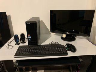 Ordenador de mesa Acer