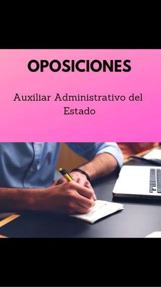 Apuntes para oposiciones , auxiliar administrativo
