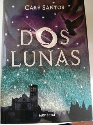 libro Dos Lunas Care Santos editorial Montena