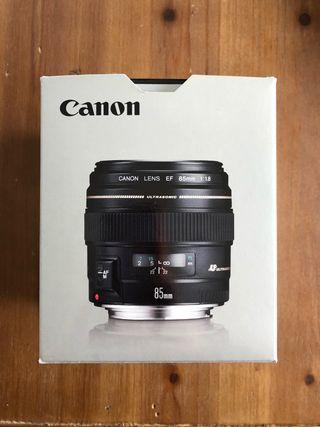 Objetivo Canon EF 85mm f/1.8 USM