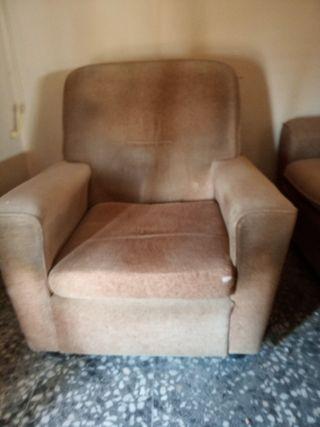sofá de dos plazas i sofá de una plaza