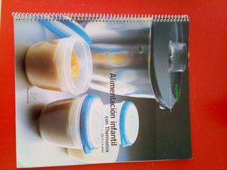 libro de recetas bebes thermomix