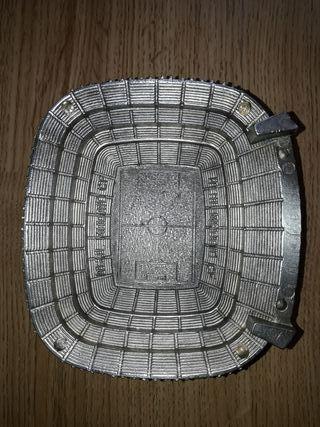 Figura de estadio Santiago bernabeu. Real Madrid