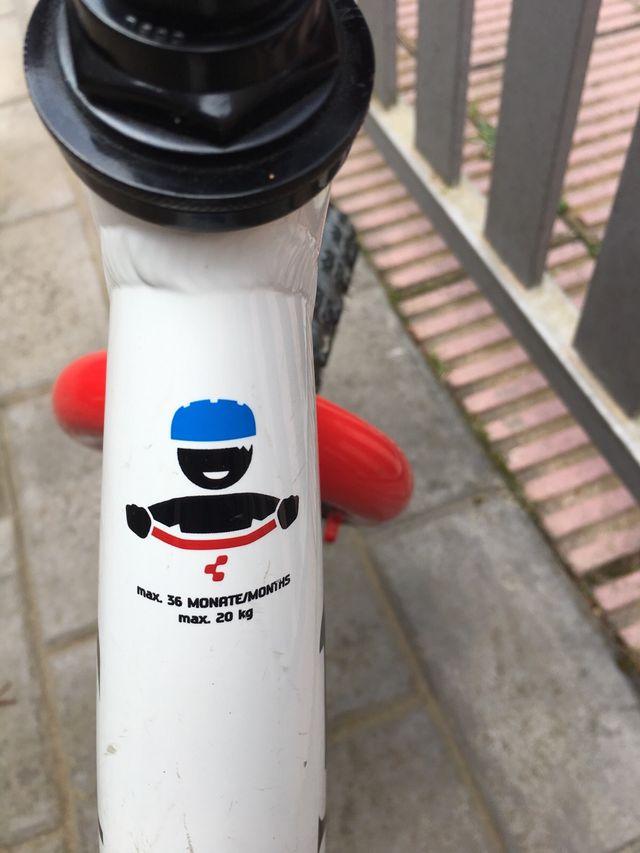 Bicicleta equilibrio