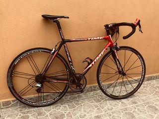 Bicicleta carretera Time Carbono