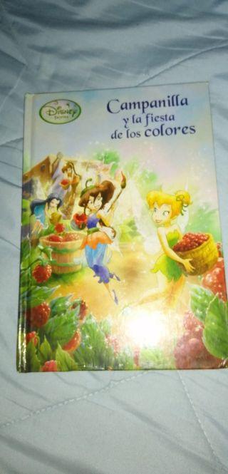 Libro Campanilla y la fiesta de los colores