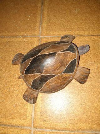 tortuga madera echa a mano