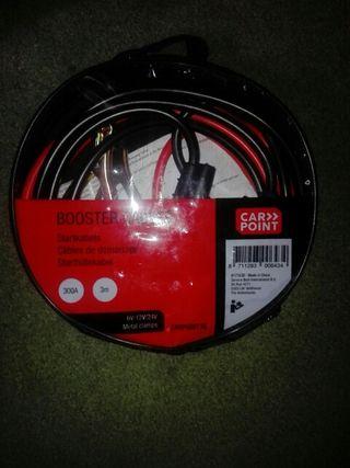 Booster cables/tweezers
