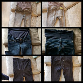 pantalón premama hym talla 34