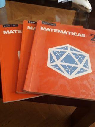 Libro de texto Matemáticas 2Eso segunda mano