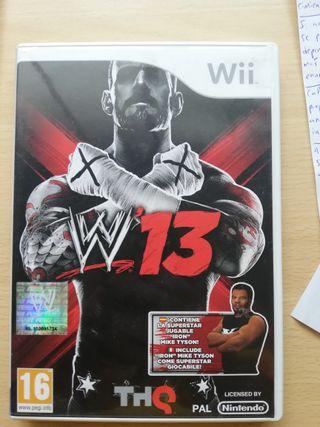 WWE 13 NINTENDO WII THQ