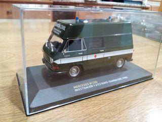 Mercedes atestados Guardia Civil 1985