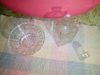 botella y jarron