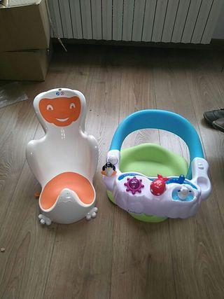 sillas de bañera bebe
