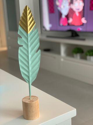 Pluma decoracion hogar