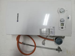 calentador de gas para agua caliente