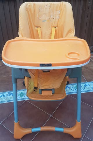 silla Trona Jane amarilla naranja niño niña