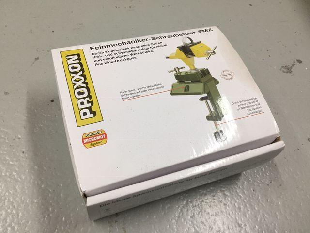 Prensa mordaza Proxxon