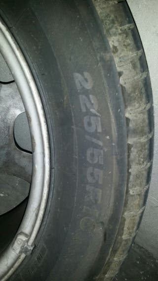ruedas con llantaBMW