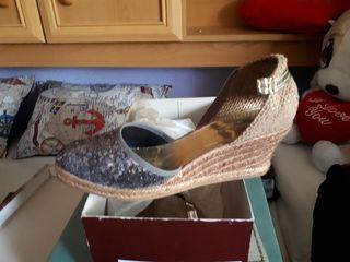Zapato verano cuña