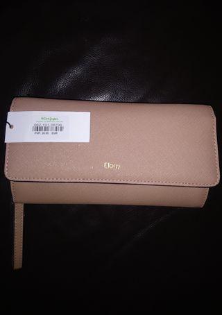 Bolso cartera de mano Elogy nuevo + regalo