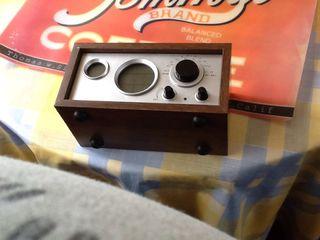 Radio imitacion vintage.