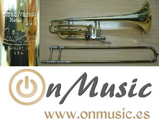 Trombon Bajo Bach Stradivarius 50B