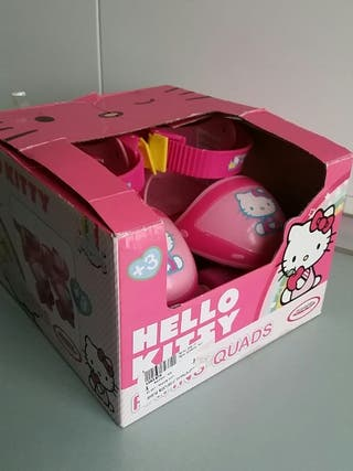 Patines de ruedas ajustables Hello Kitty
