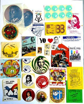 LOTE PEGATINAS Colegio Salesiano Adhesivo stickers