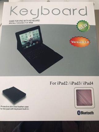 Teclado Bluetooth/ipad2/ipad3/ipad4