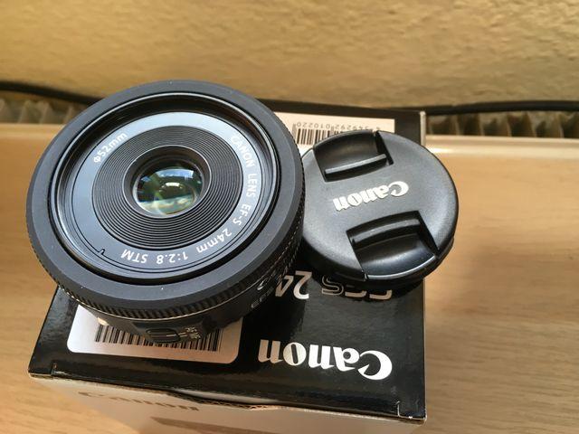 Canon 24mm f2.8 STM pancake