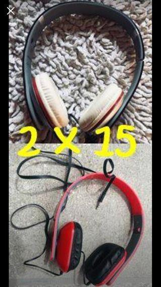OFERTA Cascos auriculares x2