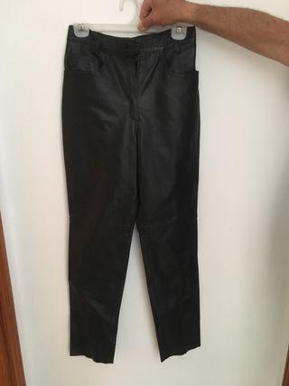 pantalon de piel napa