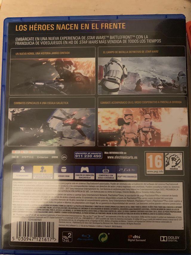 Battlefront 2 ps4