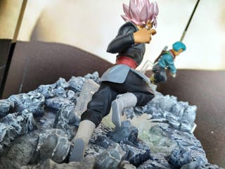 Escenografía Dragon Ball Super Goku black & Trunks