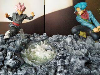 Escenografía Dragon Ball Super Diorama artesanía