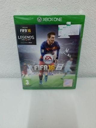 Juego Fifa 16 precintado Xbox One
