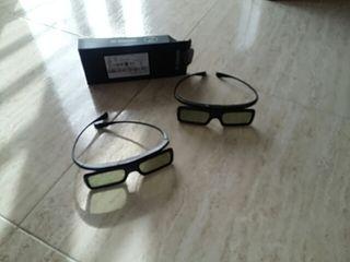 2 Gafas 3D. Samung Smart tv