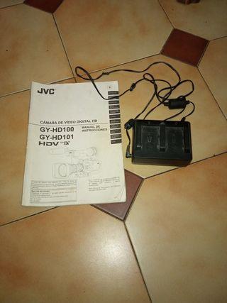 cargador camara video