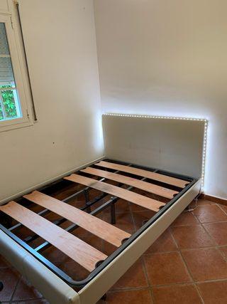 Estructura cama con cabecero