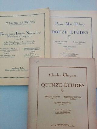 Métodos trompa, Max Dubois,Maxime Alphonse,Chaynes